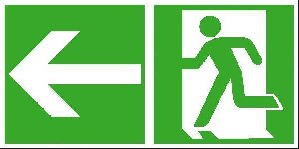 beschilderung fluchtweg - Deutschland Verkehrszeichen
